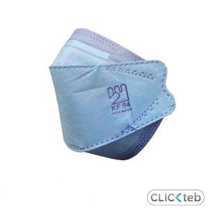 ماسک kf94 اصلی سه بعدی ۵ لایه Fast ( 3 لایه ملت + 2 لایه نانو) – بسته ۲۵ عددی